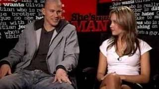 Interview d'Amanda Bynes & Channing Tatum pour le film She's the man
