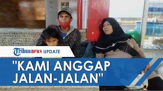 Ternyata Bohong, Suami Istri yang Jalan Kaki dari Gombong ke Bandung Bukan Mudik tapi Cari Uang