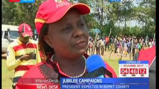 President Uhuru to lead Jubilee brigade to Bomet County