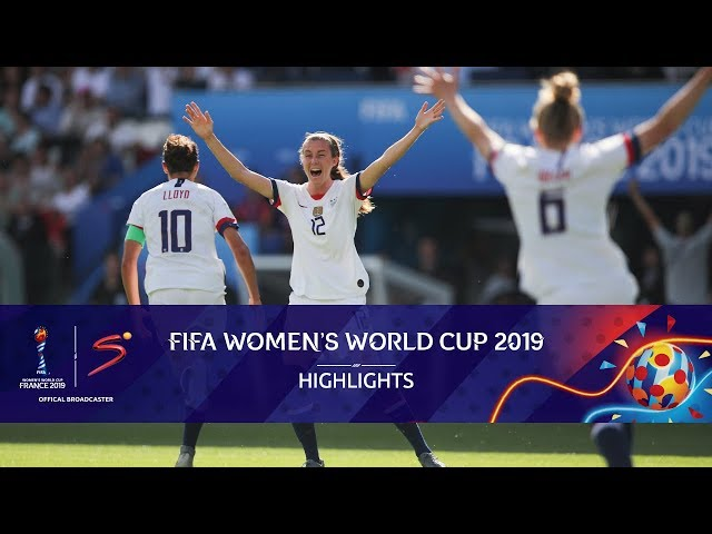 FIFA Women's World Cup | USA vs Chile | Highlights