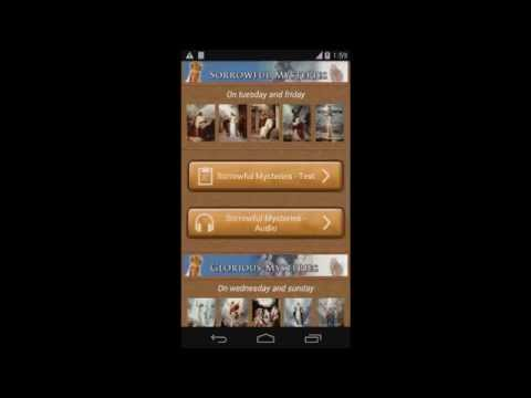 Video of Rosary Audio