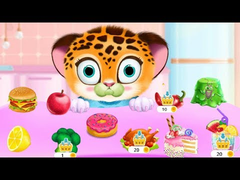 Baby Tiger Care Game - Play Pocket Pet Friend: Wash Feed Dress Up - Funny Gameplay Android