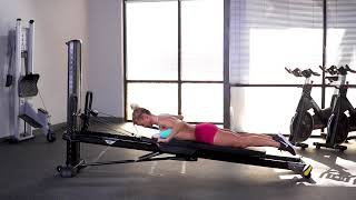 Lat Pulldown (Lying Front)