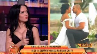 """Andreea Mantea, despre despărțirea de Cristi Mitrea: """"Nici nu sufăr, nici bine nu-mi e"""""""