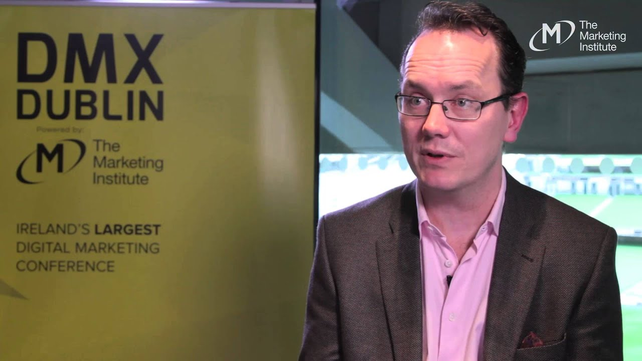 Tom Kinsella, AIB - Interview @ DMX Dublin 2016