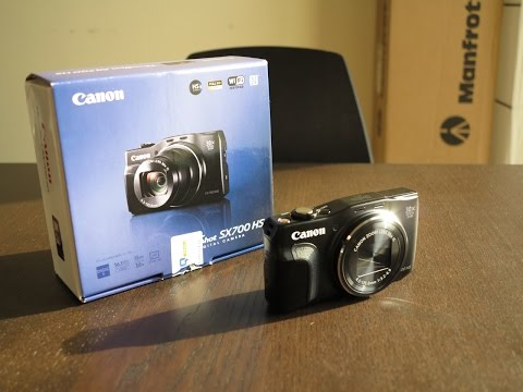 Canon PowerShot SX700 HS - travel zoom 30x optical zoom