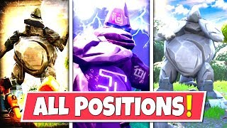 *NEW* GIANT ROCK STATUE *ALL POSITIONS* AND WHAT THEY MEAN! SEASON 7 STORYLINE UPDATE!: BR