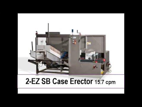 Formadora de Cajas 2-EZ SB a una velocidad de 15 cpm