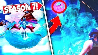*NEW* FLOATING ICE BALL *SHATTERS* RELEASING ICE KINGS SECRET CUBE WEAPON! SEASON 7 UPDATE!: BR