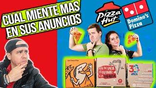 ¿Cual es la mejor pizza? Dominos  vs pizza hut, vs little caesars  Pongamoslo a prueba
