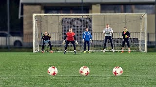 5 GOALKEEPERS IN A ROW. Ultimate challenge!