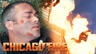 Severide Falls From Three Stories | Chicago Fire