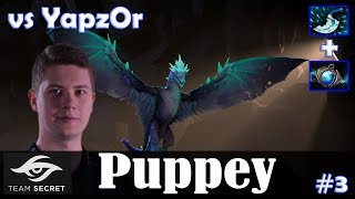 Puppey - Winter Wyvern Safelane | vs YapzOr (Rubick) 7.19 Update Patch | Dota 2 Pro MMR Gameplay #3