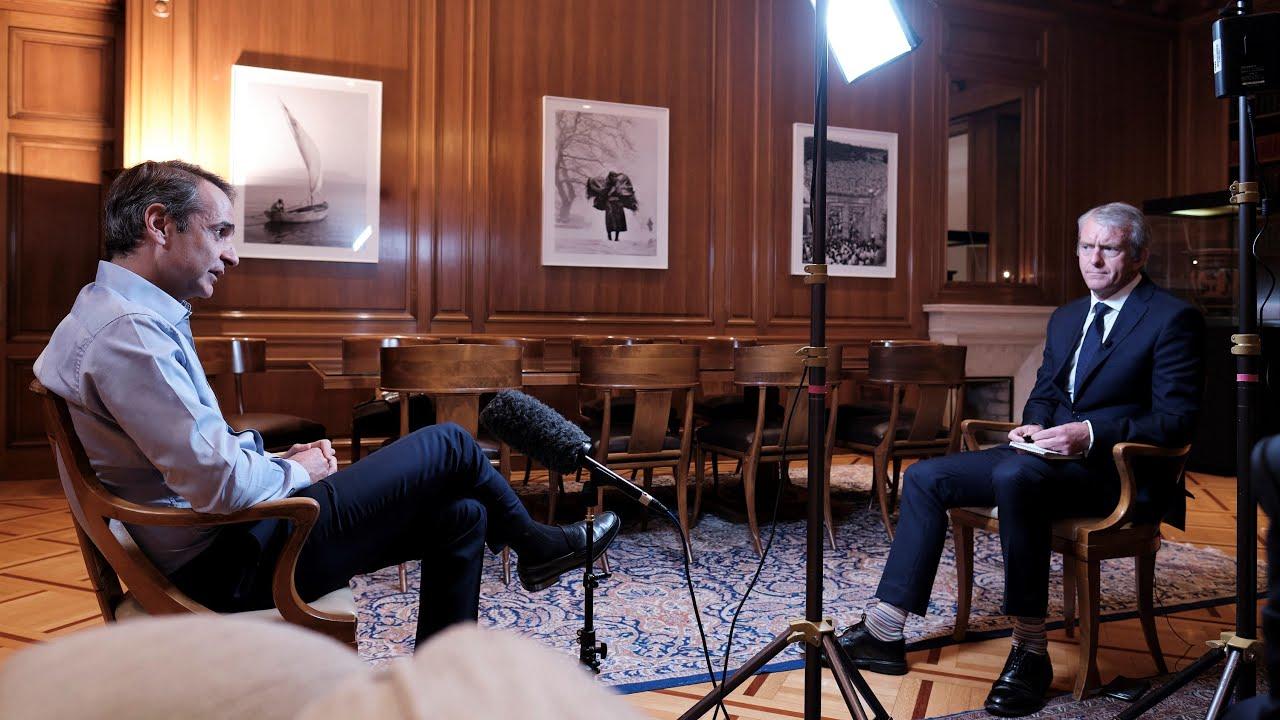Prime Minister Kyriakos Mitsotakis' interview with Nic Robertson on CNN