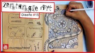 Como Hacer Zentangle Art Paso A Paso Para Principiantes Free Video