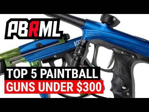 Top 5 Paintball Guns Under $300