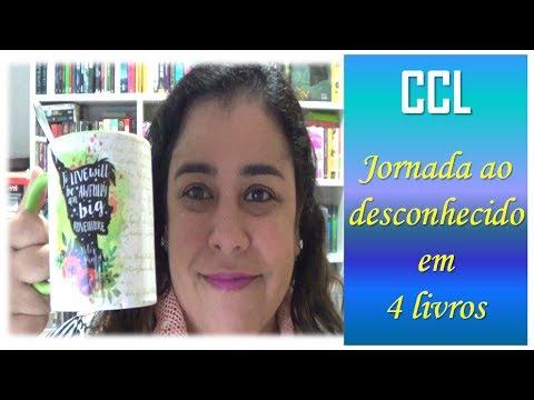 Trajetória ao desconhecido em 4 livros | CCL CAFÉ #009