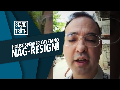 [GMA]  Stand for Truth: House Speaker Cayetano, nag-resign!