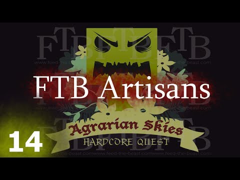 FTB Agrarian Skies 14 - A Few Forestry Bees - смотреть онлайн на Hah