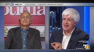 Un grandioso Marco Travaglio contro Servergnini a Otto e Mezzo 10/10/18