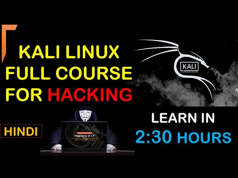 Kali Linux Full Course in Hindi | Kali Linux For Ethical Hacking || Linux Full Course For Beginners