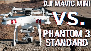 DJI Mavic Mini vs. DJI Phantom 3 Standard: THE ULTIMATE COMPARISON