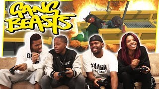 THE ULTIMATE TAG TEAM REMATCH! THEY'RE OUT FOR REVENGE! - Gang Beasts Gameplay