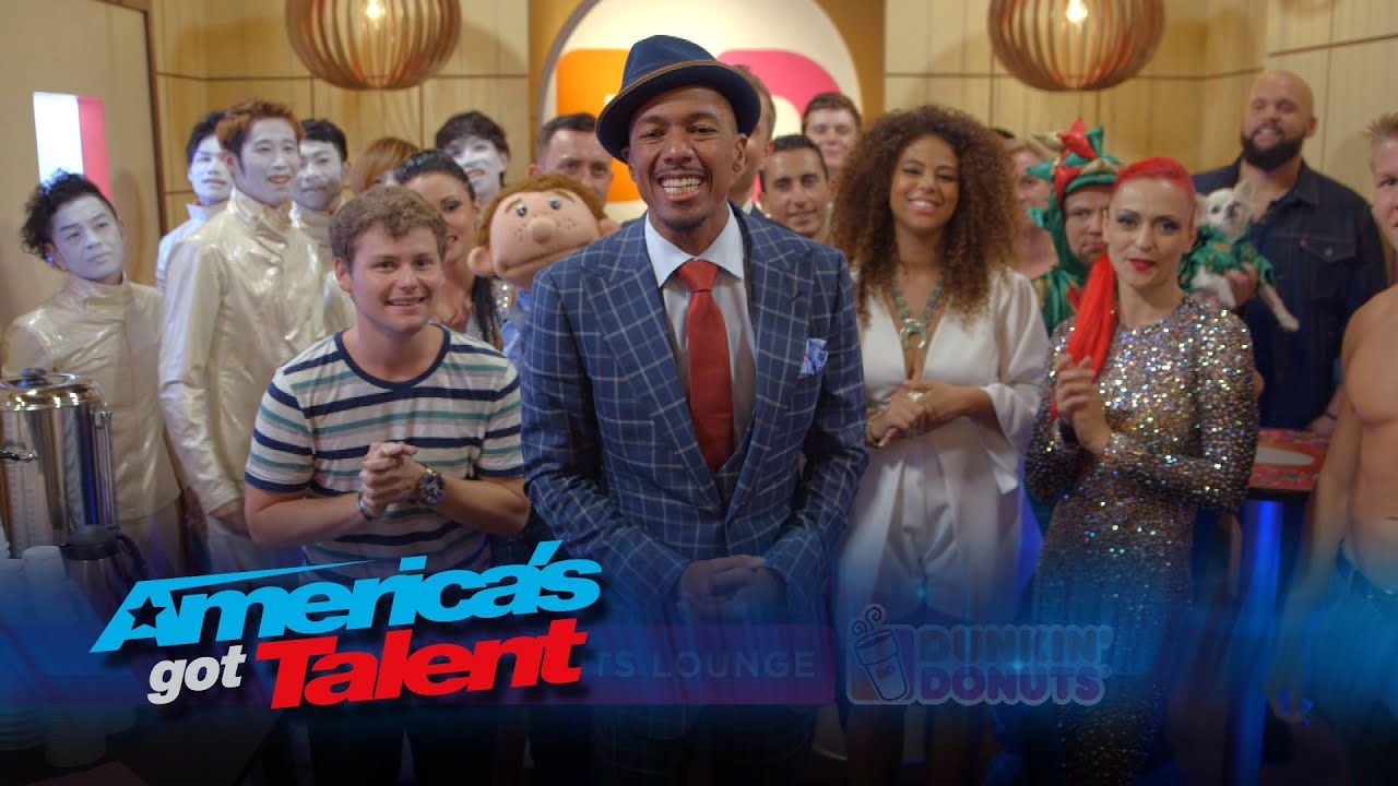 Dunkin' Donuts Lounge: Dance Offs, Shirtless Men and More – America's Got Talent 2015 #AGT