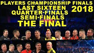 R3 QF SF F 2018 Players Championship Finals
