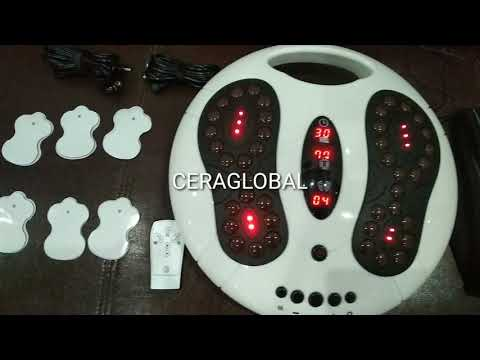 Ceraglobal Tourmaline Stone ESM Foot Pain Relief Therapy Machine