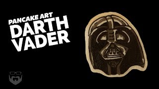 How to Draw Darth Vader Pancake Art