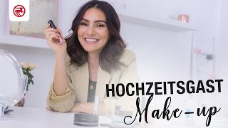 Hochzeitsgast Make-Up mit Naturkosmetik| Take Over | madametamtam