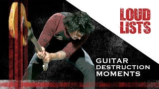 10 Awesome Guitar Destruction Moments