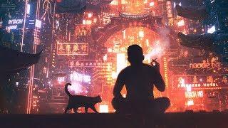 Night city lights - [lofi / jazzhop / chill mix]