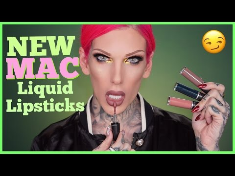 MAC Spring 17' RETRO MATTE LIQUID LIPSTICKS: Review & Swatches | Jeffree Star
