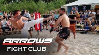 ARROWS KARATE VS STREET FIGHTER