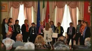 preview picture of video 'Blue Moon del Gruppo vocale D'altro Canto di Tirano (So)'