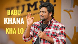 Babu Khana Kha lo | Zakir Khan | Stand-Up Comedy | Sukha poori 5 - Download this Video in MP3, M4A, WEBM, MP4, 3GP