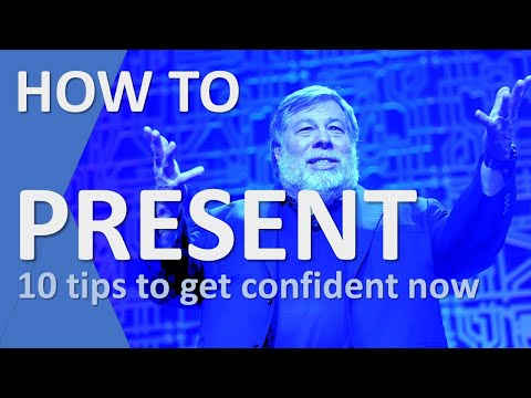 How To Present A Presentation - 10 tricks to give you confidence