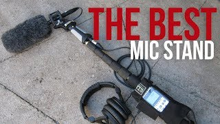 HOW TO: Setup a Boom Pole on a MIC Stand -  On Stage Mic Stand Setup