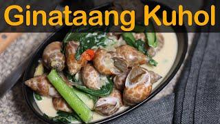 Ginataang Kuhol | Japanese Snail in Coconut Milk