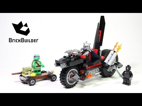 Vidéo LEGO Tortues Ninja 79101 : La moto Dragon de Shredder