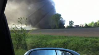 preview picture of video 'Incendio Cartiera Marudo'