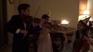 Happy Birthday Contest - The Little Stars String Trio (Pre-College Ensemble)