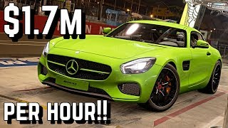 $1.7 MILLION/Hour *Mercedes-AMG GTS* Setup in GT SPORT!!