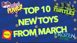 Top New Toys - Frozen Fever Snowgies, Alex crafts, Shopkins, Ninja Turtles