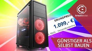 DIESER 1000€ GAMING PC von CSL ist GÜNSTIGER als Selbstbau! Trotzdem schlecht? #KreativeFragen 124