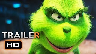 THE GRINCH Official Trailer 3 (2018) Benedict Cumberbatch Animated Movie HD