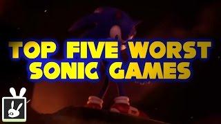Top Five Worst Sonic Games