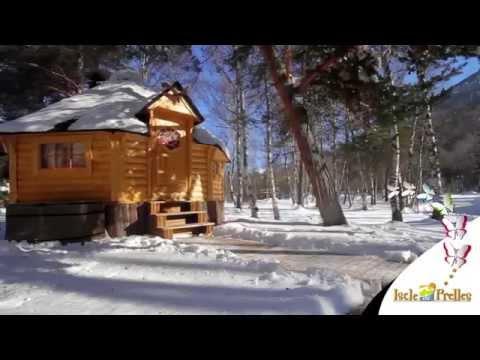 Hiver au Camping Iscle de Prelles dans les Hautes-Alpes